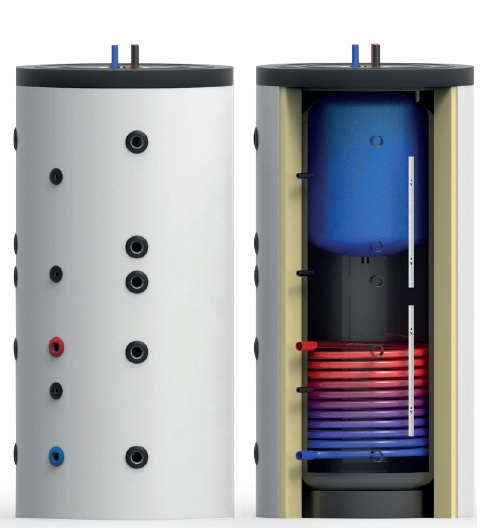 Boiler in boiler 1000-200 litri