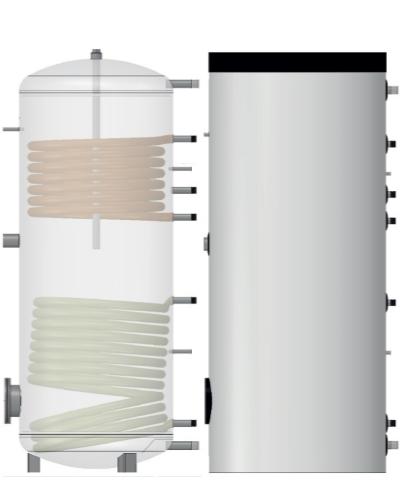 Boiler apa calda 300 L - Made in Germany
