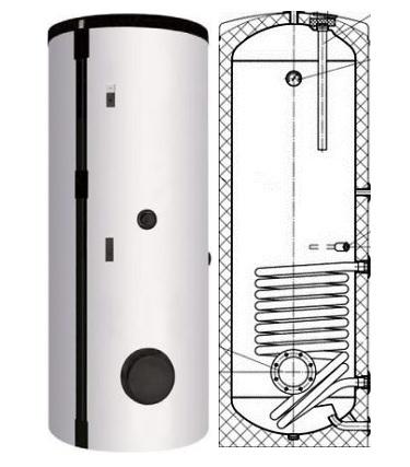 Boiler 300 litri - Instalatii solare - Promotie