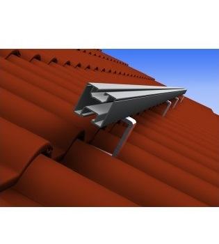 Profil de aluminiu 40x40mm  Montaj Panouri Solare