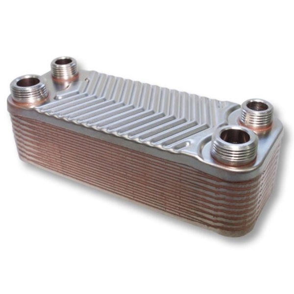 Schimbator de caldura cu placi de inox 44 kW