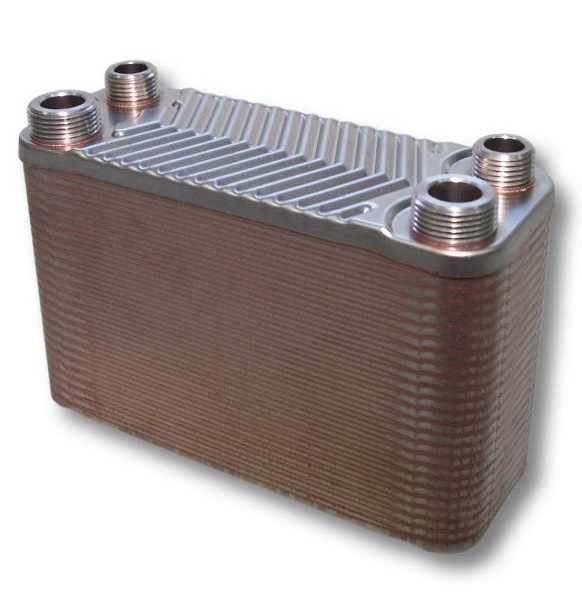 Schimbator de caldura cu placi de inox 110 kW