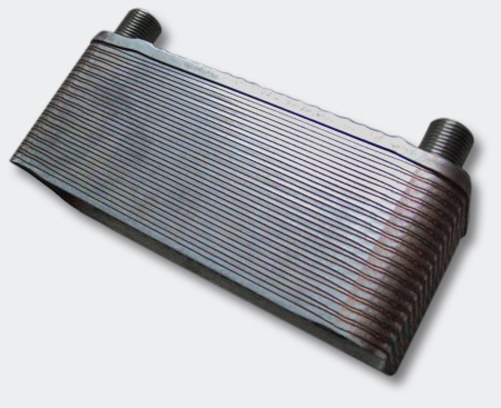 Schimbator de caldura cu placi de inox 110 kW - Alternative Pure Energy