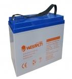 Acumulator cu gel 55 Ah 12V - Westech