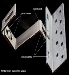 Suporti de inox reglabil - acoperisuri tigla  - Alternative Pure Energy